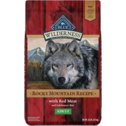 Blue Buffalo Wilderness Rocky Mountain Recipe Red Meat Dog Food For Adult Dogs; 22 lb.