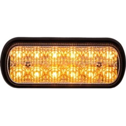 Buyers Products 5.5 in. Amber Rectangular Strobe Light