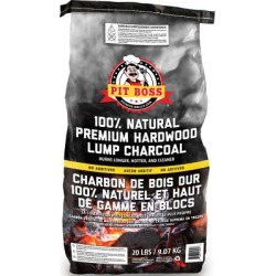 Pit Boss Premium Lump Charcoal; 20 lb. found on Bargain Bro India from Tractor Supply for $24.99