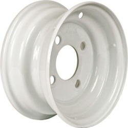 Martin Wheel 4-Hole Steel Trailer Wheel, 8x3.75, 4 hole