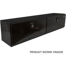 Buyers Products 18 in. x 18 in. x 90 in. XD Black Steel Underbody Truck Box