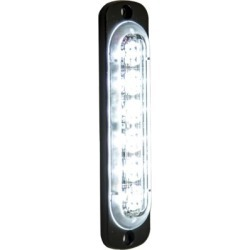 Buyers Products 4.375 in. Clear Thin Mount Vertical Strobe Light