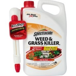 Spectracide Weed & Grass Killer Accushot Sprayer, 1.33 gal., HG-96370 found on Bargain Bro Philippines from Tractor Supply for $15.99