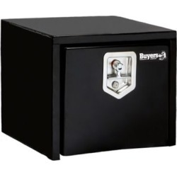 Buyers Products 14 in. x 12 in. x 18 in. Black Steel Underbody Truck Box