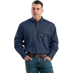 Berne Men's Flame Resistant Button Down Long Sleeve Twill Work Shirt found on Bargain Bro Philippines from Tractor Supply for $74.99