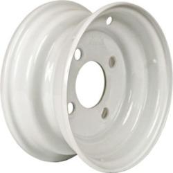 Martin Wheel 4-Hole Steel Trailer Wheel, 8x3.75, 4 hole
