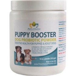 Pet's Choice Pharmaceuticals Puppy Booster Probiotic Powder, 16 oz.