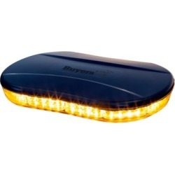 Buyers Products Amber Oval Mini Light Bar, Low-Profile