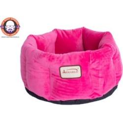 Armarkat C03CZH Cozy Pet Bed, 15 in. Diameter, Pink