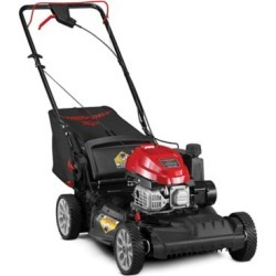 Troy-Bilt TB260XP SpaceSavr 149CC, 21 in. Self-Propelled Mower with Rear Bag, Mulch and Side Discharge, 12AVU2V2766