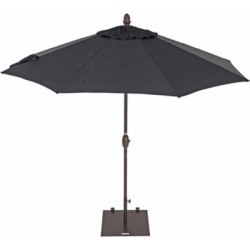 TrueShade Plus 9 ft. Market Umbrella with push-button Tilt; Black found on Bargain Bro India from Tractor Supply for $149.99