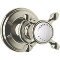 ROHL Perrin & Rowe Edwardian Trim for Volume Controls And Diverters, Satin Nickel, RHL-U.3241X-STN/TO