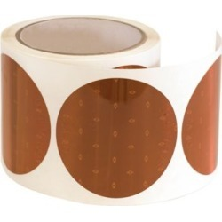 Buyers Products 3 in. Amber Round DOT Stick-On Reflectors