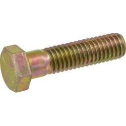 Hillman Grade 8 Yellow Zinc Hex Cap Screw; 3/4 in. Diameter x 5 in. L