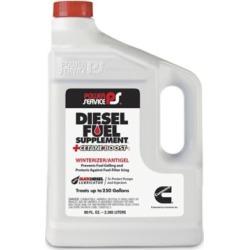Power Service Diesel Fuel Supplement Antigel + Cetane Boost; 80 oz.