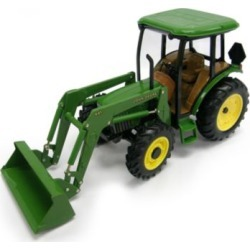 John Deere 5420 Tractor with Cab and Loader; 1:16