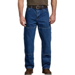 Dickies Men's Relaxed Fit Double Knee Carpenter Denim Jean found on Bargain Bro Philippines from Tractor Supply for $40.99