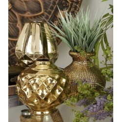 Harper & Willow Small Round Metallic Pots, Set of 3, 6 in. x 6 in., Gold, 93666 found on Bargain Bro Philippines from Tractor Supply for $58.99