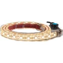 Buyers Products 60 in. 90-LED Strip Light with 3M Adhesive Back, Clear and Warm