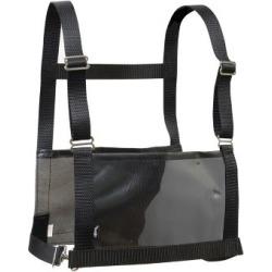 Weaver Leather Exhibitor Number Harness; Medium/Large - Adult; Black