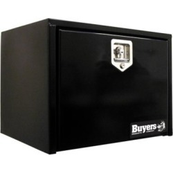 Buyers Products 14 in. x 16 in. x 24 in. Black Steel Underbody Truck Box