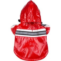 Pet Life Reflecta-Glow Reflective Waterproof Adjustable PVC Pet Raincoat; Medium; Red found on Bargain Bro India from Tractor Supply for $19.99