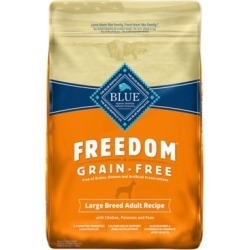 Blue Freedom Grain-Free Chicken Recipe For Large Breed Adult Dogs; 24 lb. found on Bargain Bro India from Tractor Supply for $52.99