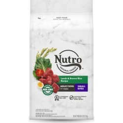 Nutro Small Bites Adult Dog Food, Lamb Meal & Rice Formula, 5 lb.