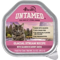 4health Untamed Glacial Stream Recipe With Salmon In Savory Juices; 3.5 oz.