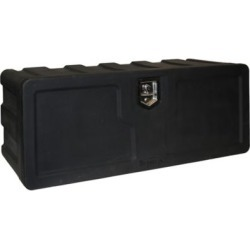 Buyers Products 18 in. x 18 in. x 48 in. Black Poly Underbody Truck Box