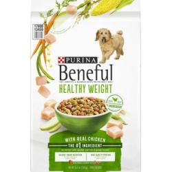 Beneful Healthy Weight with Real Chicken Dog Food 15.5 lb. Bag