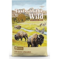 Taste of the Wild Ancient Prairie Canine Recipe with Roasted Bison, Roasted Venison and Ancient Grains, 5 lb.