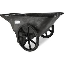 Rubbermaid 5642 Big Wheel Farm Cart; 7-1/2 cu. ft.