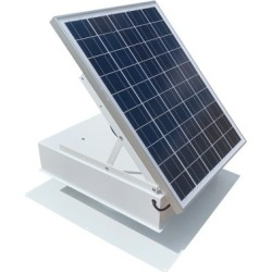 Remington Solar 40 Watt Roof Mount Green House Solar Vent Fan, White, SF40-WH found on Bargain Bro Philippines from Tractor Supply for $549.99
