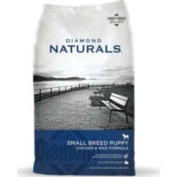 Diamond Naturals Small Breed Puppy Chicken & Rice Formula Dog Food, 18 lb. Bag