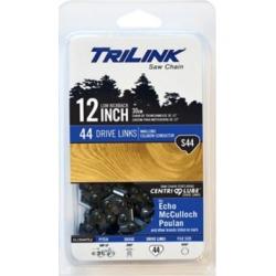 TriLink Saw Chain 12 in. Semi Chisel Saw Chain; 3/8 in. LP Pitch; .050 in. Gauge; 44 DL