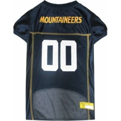 Pets First Co West Virginia Mountaineers Pet Jersey