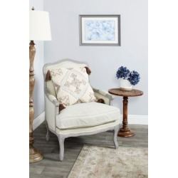 Harper & Willow Blue Flowers Print in Rectangular Gray Frame, 23.5 in. x 17.5 in., 87779 found on Bargain Bro Philippines from Tractor Supply for $58.99