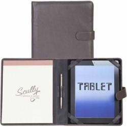 Scully Leather Genuine Leather Tablet Cover; 57-11-25-F