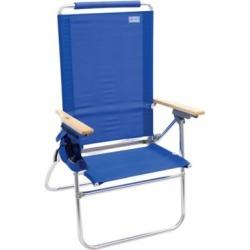 RIO Beach Hiboy Tall Back Beach Chair, Blue, SC644-46-1