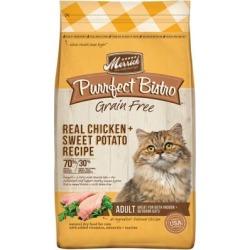 Merrick Grain Free Purrfect Bistro Grain Free Real Chicken Adult Dry Cat Food