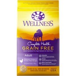 Wellness Complete Health Natural Grain-Free Adult Deboned Chicken & Chicken Meal Recipe Dog Food, 4 lb.