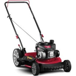 Troy-Bilt TB105 140CC, 21 in. High Wheel Push Mower with Mulch and Side Discharge, 11A-B0SD766