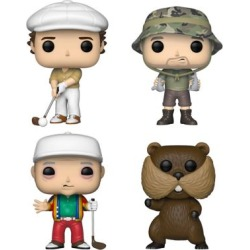 Funko POP! Movies Caddyshack Collectors Set - Ty (Possible Limited Chase Edition), Al, Carl, Gopher, G847944003588