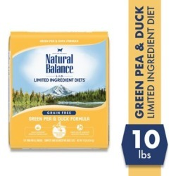 Natural Balance L.I.D. Limited Ingredient Diets Green Pea & Duck Formula Dry Cat Food; 10 lb. Bag