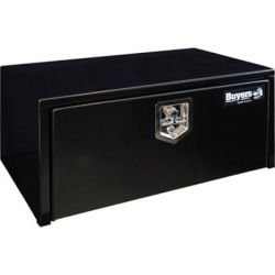 Buyers Products 14 in. x 16 in. x 30 in. Black Steel Underbody Truck Box