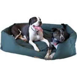 Armarkat Pet Bed, 50 in. x 37 in., Extra Large, Laurel Green