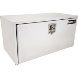 Buyers Products 18 in. x 18 in. x 36 in. White Steel Underbody Truck Box