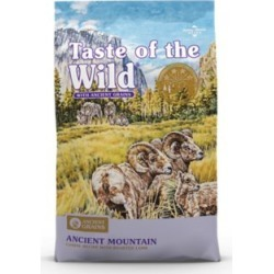 Taste of the Wild Ancient Mountain Canine Recipe with Roasted Lamb and Ancient Grains, 28 lb.
