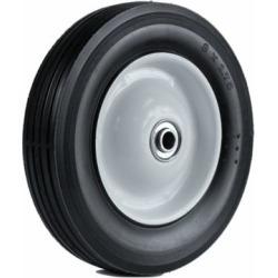 Martin Wheel 8X1.75 Light-Duty Steel Wheel, 1/2 in. BB, 1-3/8 in. Offset Hub, Rib Tread